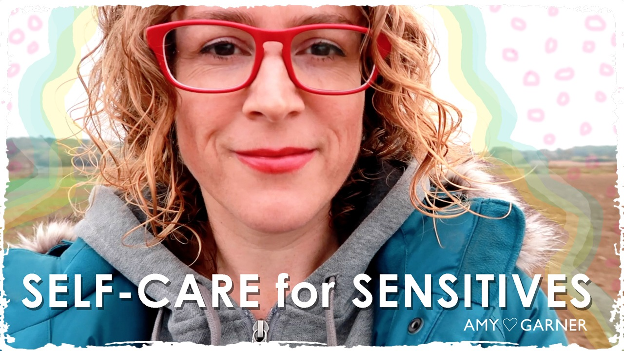 Amy Garner is author of the self care for sensitive people guide