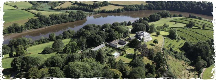 The Barn rural spiritual retreat in the UK by Sharpham Trust