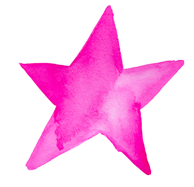 spiritual retreat pink star