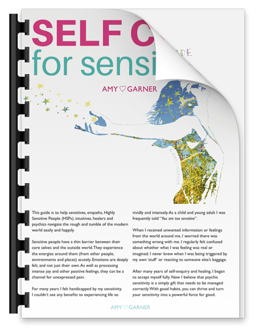 The self care for sensitives guide for highly sensitive people