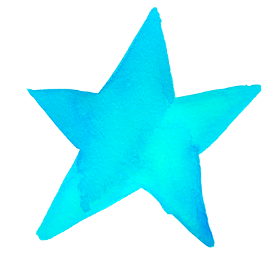 spiritual retreat teal star