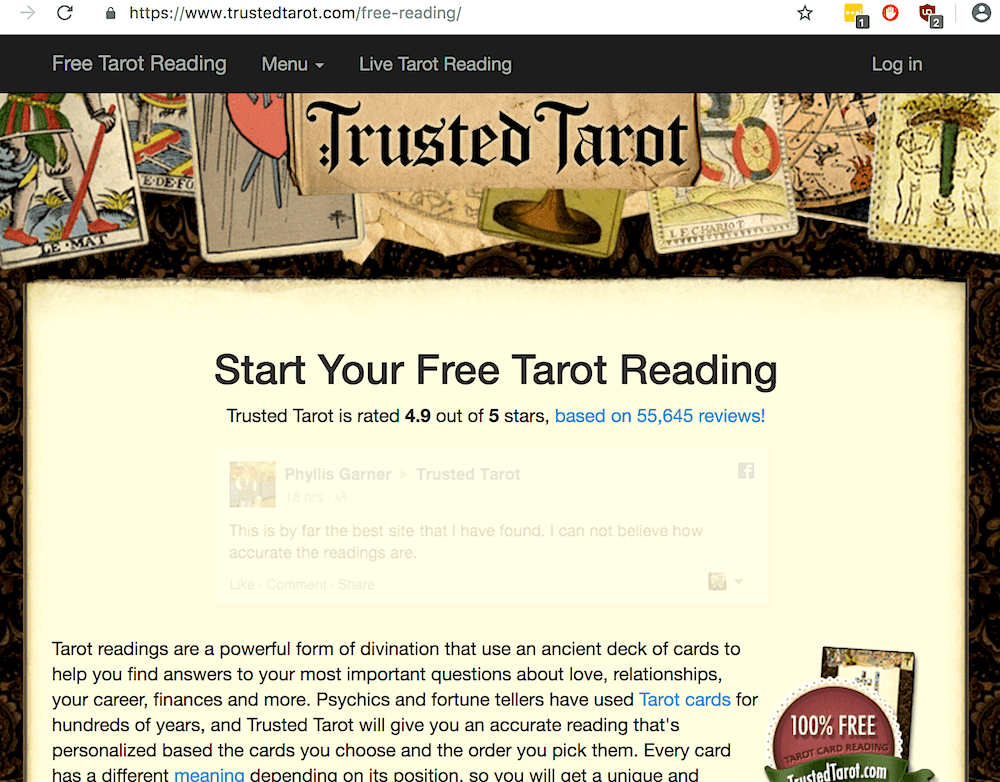 Does a free online tarot reading actually work? - Hello Amy Garner