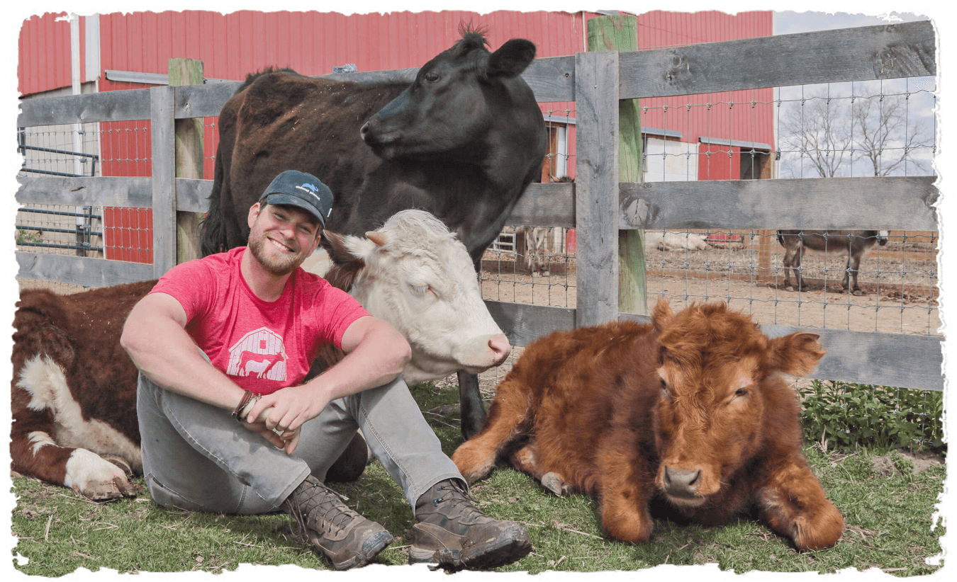 change the world without burnout Barn Sanctuary's Dan