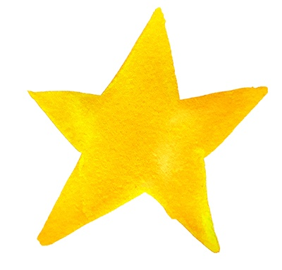 text break yellow star