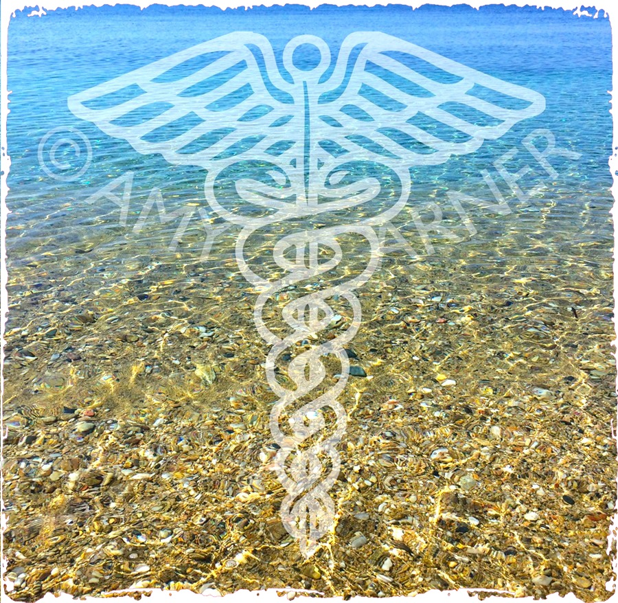Best healers in the UK are familiar with the caduceus symbol for healing