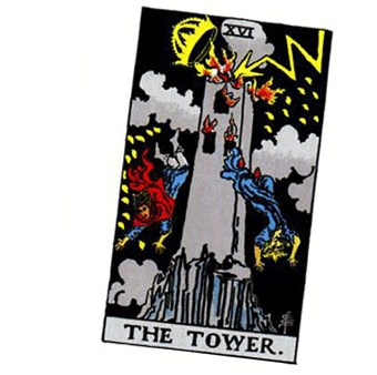 The Tower tarot card symbolises the final stages of spiritual awakening