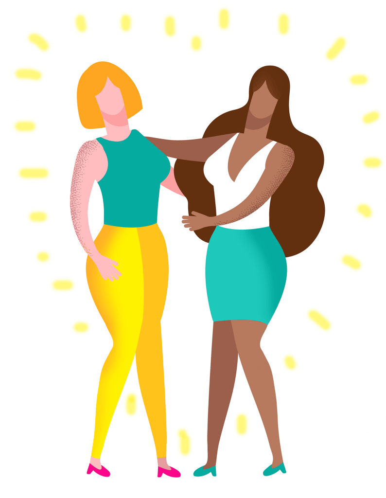 How to find my soul mate as a gay woman showing a couple