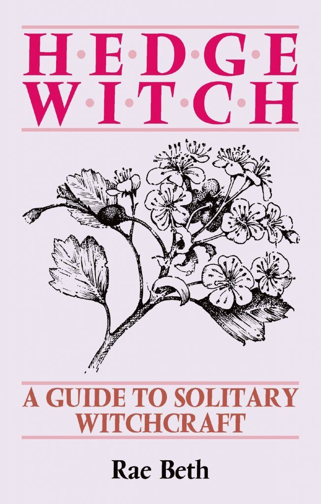 the solo witch solitary magic book Hedge Witch by Rae Beth