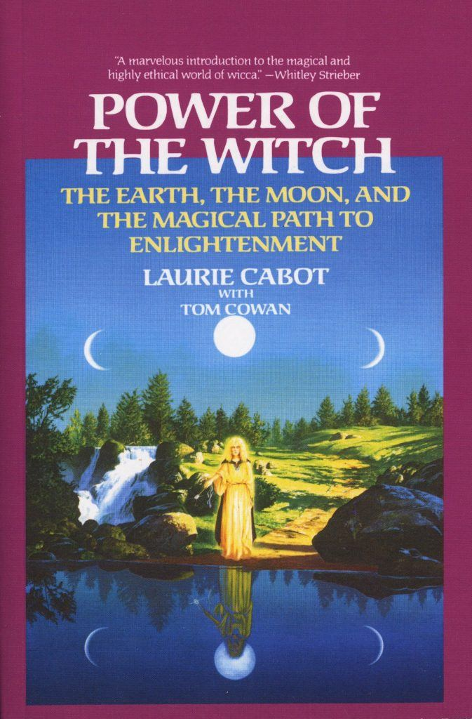 The solo witch solitary magic book Power of the Witch by Laurie Cabot