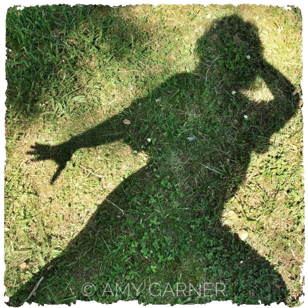 Image showing the solo witch solitary magic of shadow work