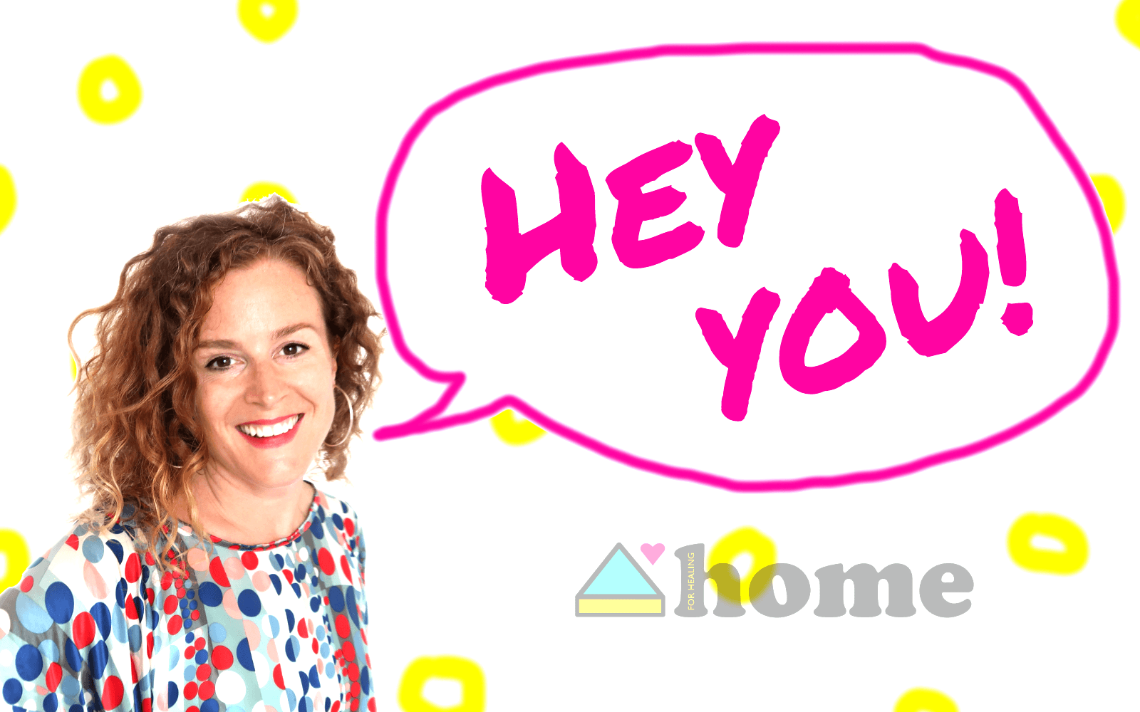 Join home banner saying Hey you