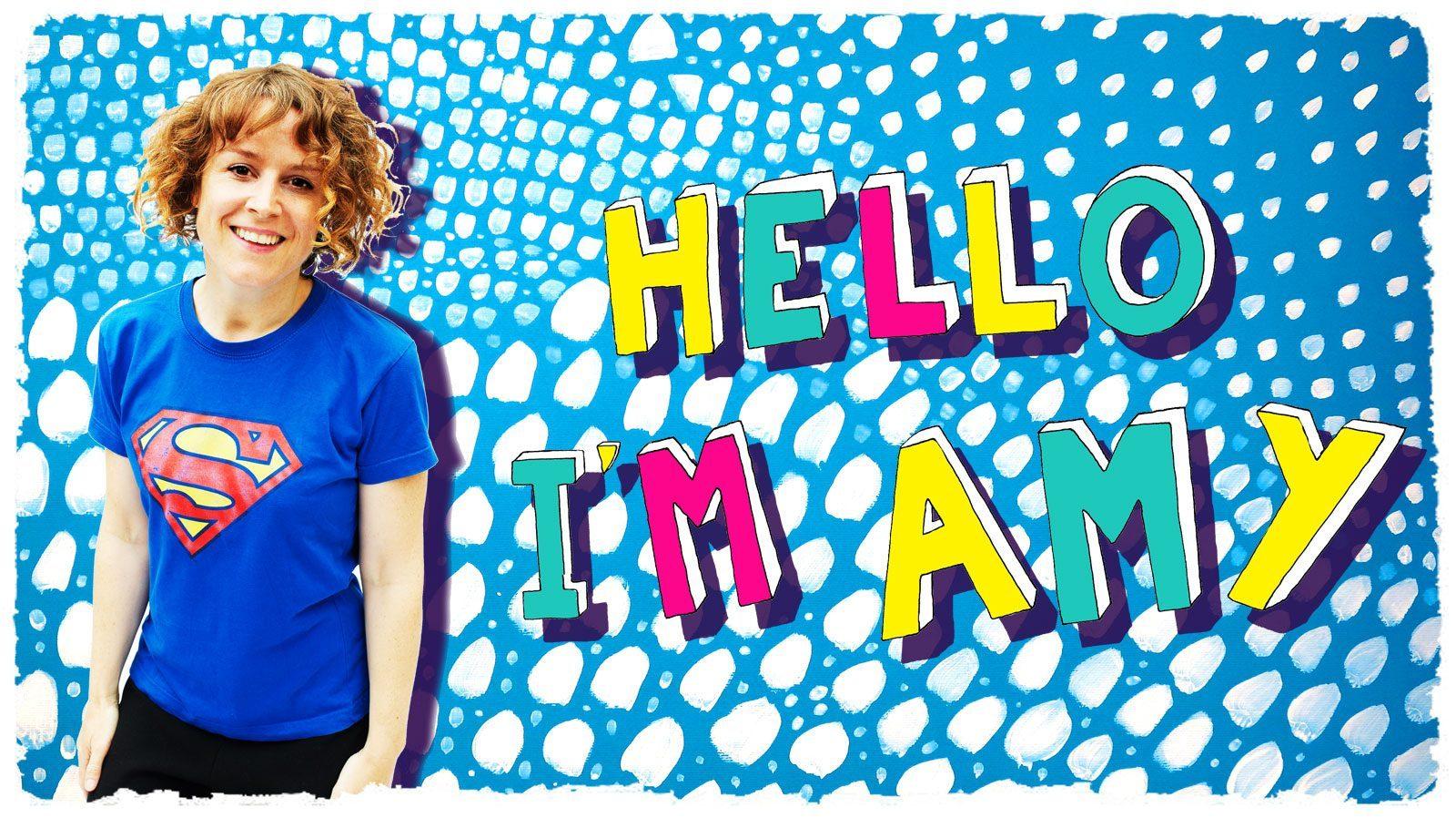 Hello It's Amy sensitive superheroine