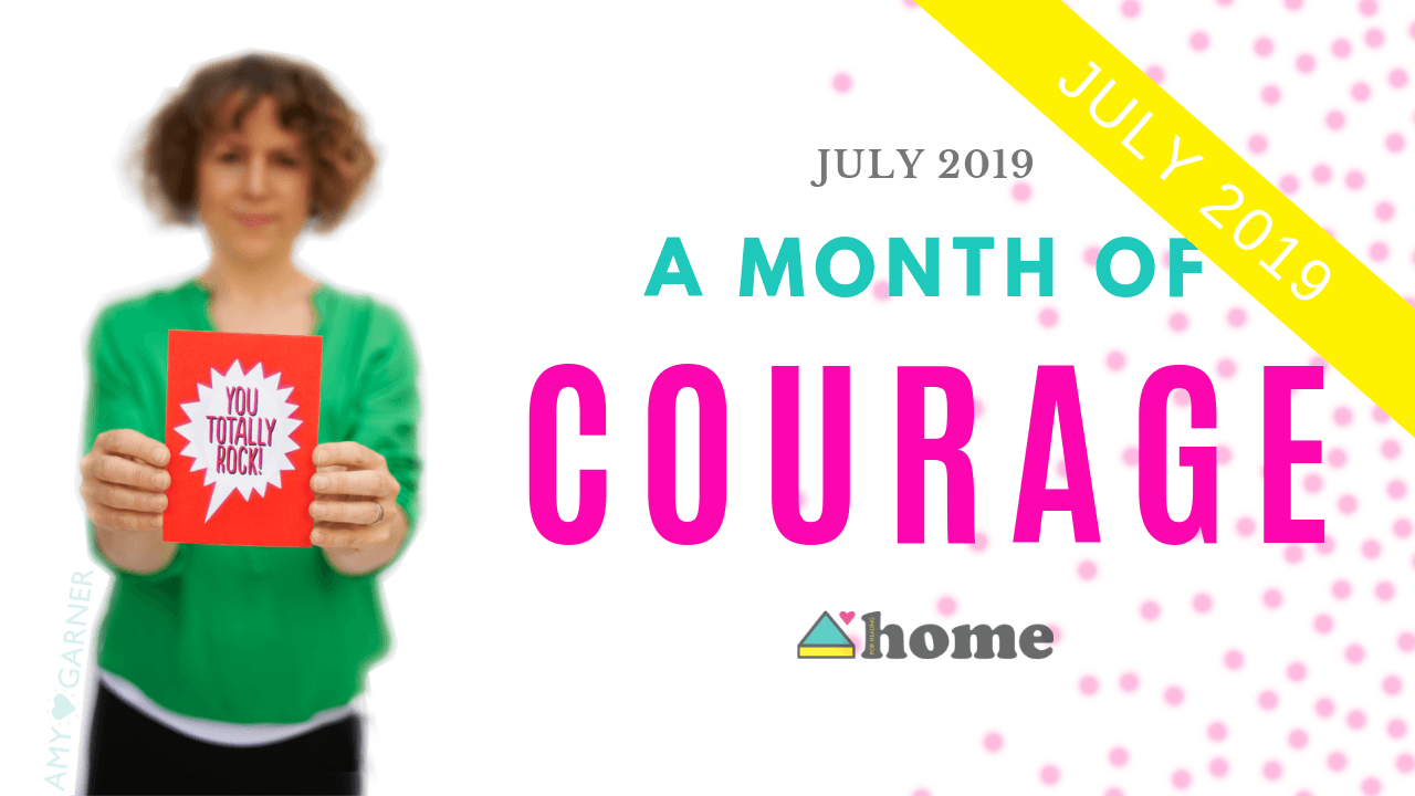 A Month of Courage