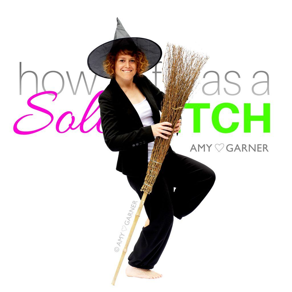 Amy Garner dancing because of solo witch solitary magic