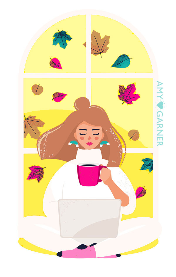Minimalism-Digital-Declutter-Detox-woman-in-window-with-cup