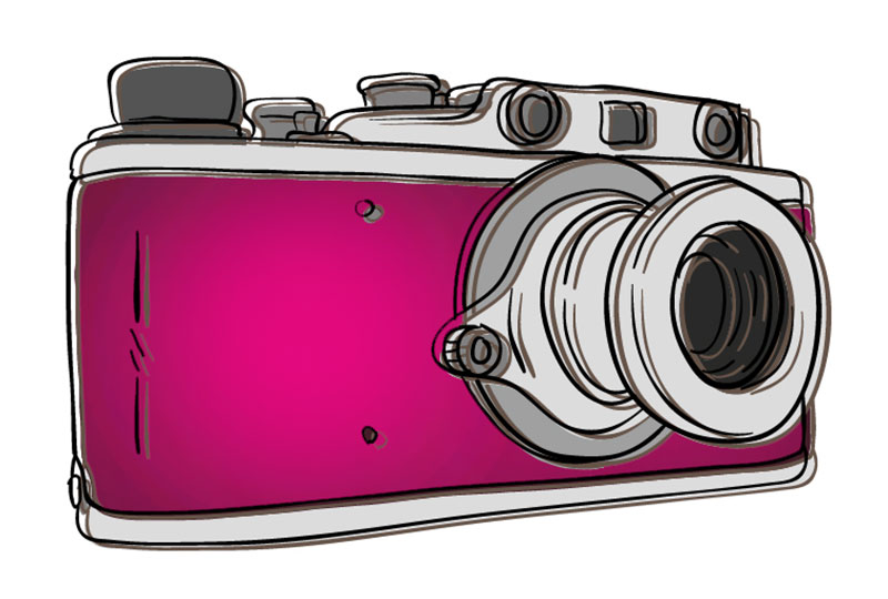 Narcissistic Traits + Relationships pink camera