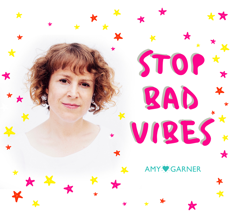 Amy helps you stop negative vibes from neighbours