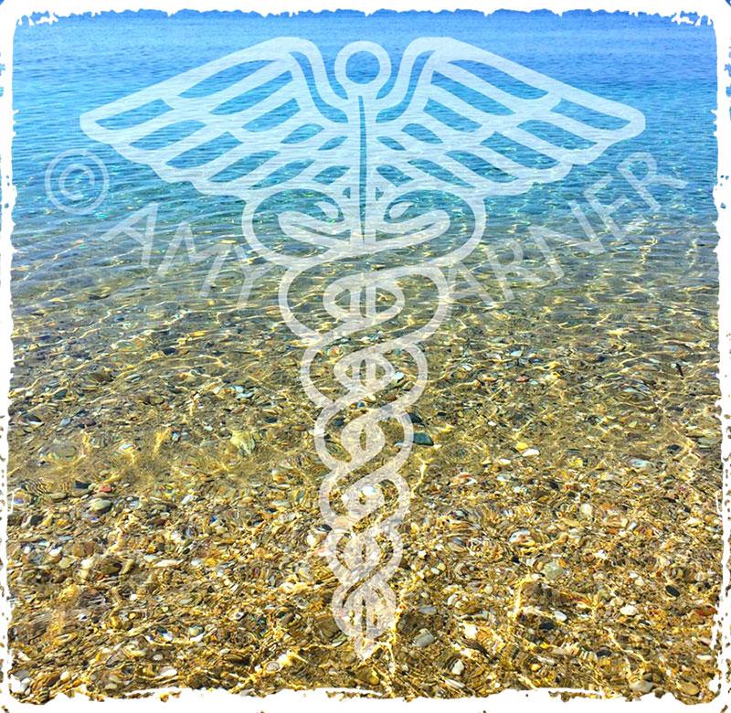 What is Theta Healing – caduceus symbol