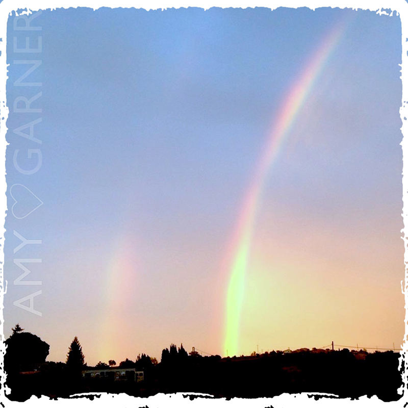 Theta Healing Benefits include seeing life more positively – rainbow image