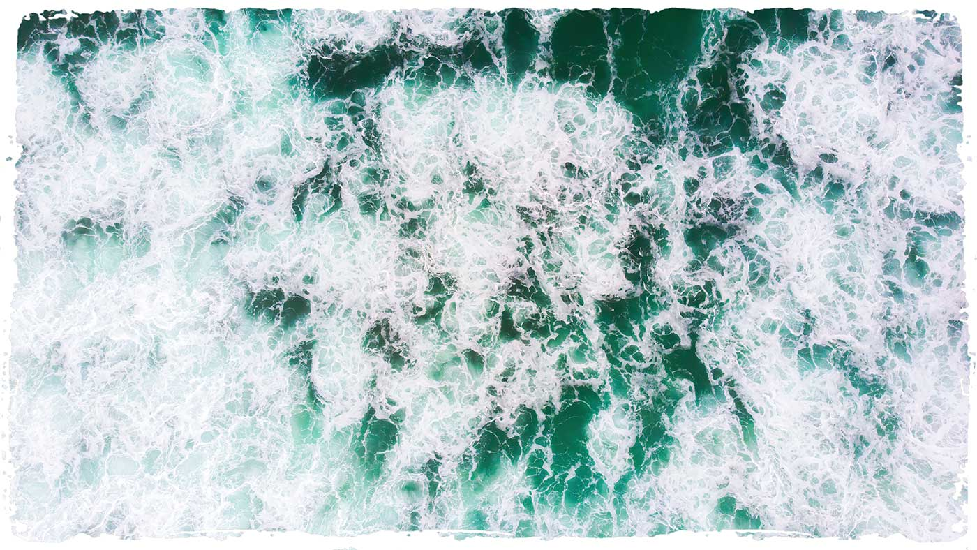 healing benefits of the sea waves and surf for cleansing and relaxation